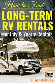 100 Truck Camper Rentals LongTerm Monthly RV How To Find The Best Deals In 2019