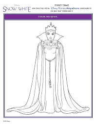 Get Ready For A Timeless Classic With Disneys Snow White And The Seven Dwarfs Printable Coloring Pages