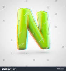 Glossy Perl Letter W Uppercase 3D Render Of Bubble Font With