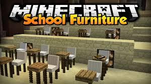 minecraft school furniture custom command