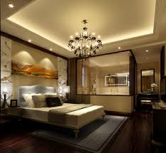 3D Bedroom with bathroom luxury