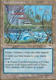 Faerie Deck Mtg Legacy by Faerie Conclave Urza U0027s Legacy Magic The Gathering Online