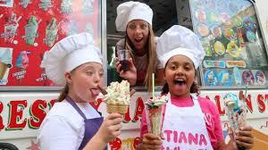 100 Youtube Ice Cream Truck TIANAS ICE CREAM TRUCK Songs For Children YouTube