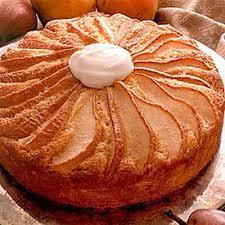 Sour Cream & Pear Coffee Cake Recipe