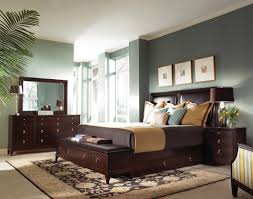 Master Bedroom With Dark Cool Brilliant Furniture Ideas