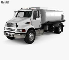 100 Tank Truck Sterling Acterra Oil 2002 3D Model Vehicles On Hum3D