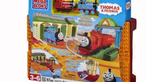 Trackmaster Tidmouth Sheds Playset by Megabloks All Aboard At Tidmouth Sheds Toy Youtube