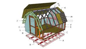 8x12 lean to shed roof plans howtospecialist how to build