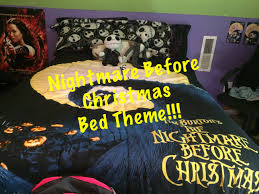 Nightmare Before Christmas Themed Room by Nightmare Before Christmas Themed Bed Unboxing U0026set Up Youtube