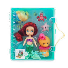 Disney Animators Collection Ariel Mini Doll Playset The Little