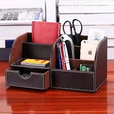 set de bureau fantaisie fantaisie en cuir multifonction bureau papeterie bureau ensemble