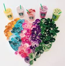Starbucks Orange Purple Blue Pink And Green Drinks AKA The Rainbow Have Garnered Quite A Following On Social Media Recently Try Search For