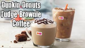 Pumpkin Spice Latte Dunkin Donuts Ingredients by Dunkin Donuts Fudge Brownie Coffee Review Carbs Youtube