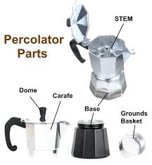 Percolator Coffee Parts Pot