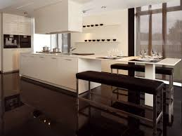 bar theke in der küche ideen für moderne küchenplanung