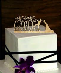 Innovative Personalized Wedding Cakes Custom Cake Topper Rustic