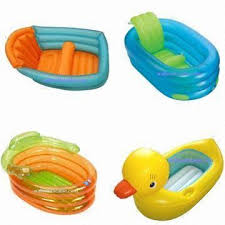 inflatable duck bath tub baby tub global sources