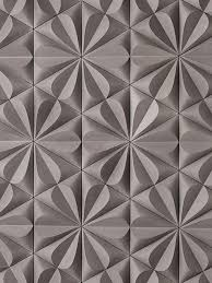 Details We Like Pattern Tiles Grey Flower Shape Triangles At Designbinge