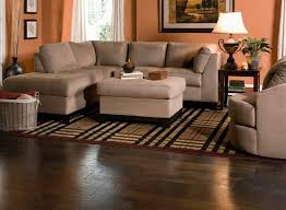 Round Green Ancient Wooden Rug Raymour And Flanigan Sectional Sofas As Well Kathy Ireland Home