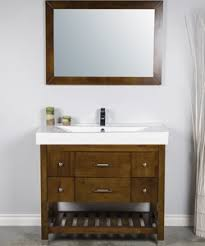 Buy This 40 Inch Bathroom Vanity With An Open Bottom Shelf For Storage The Large