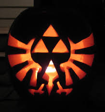 Nerdy Pumpkin Stencils by Triforce Pumpkin Carving By Ladybug95 On Deviantart