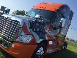 Freightliner Trucks Presents 2016 Ride Of Pride Truck To Schneider ...