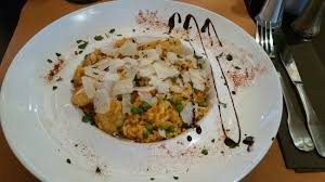 cuisine et cagne risotto safrané de crevettes et petits pois picture of cararocca