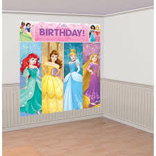 Halloween Scene Setters by Disney Princess Dream Big Party Supplies Disney Princess Dream