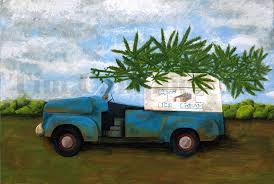 100 Good Humor Truck Marijuana Giclee Print By Tim Campbell Etsy
