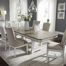 100 Dining Room Chairs With Oak Accents Abbey Park 7 Piece Table With 4 Upholstered Side
