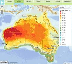 cirque bureau australia warned to brace for 50 degree temperatures daily mail