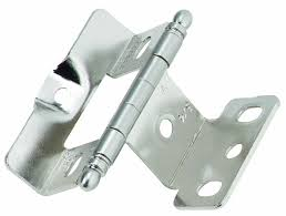 Non Mortise Cabinet Hinges Nickel by Amerock Pk3175tborb Full Inset Full Wrap Ball Tip Hinge With 3