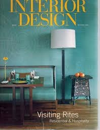 100 Residential Interior Design Magazine Number 12 October 2001 Visiting Rites