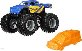 Buy Hot Wheels - Monster Jam Truck 1:64 - Trasher (FLW93) - Incl ... Hot Wheels Monster Jam Mega Air Jumper Assorted Target Australia Maxd Multi Color Chv22dxb06 Dashnjess Diecast Toy 1 64 Batman Batmobile Truck Inferno 124 Diecast Vehicle Shop Cars Trucks Amazoncom Mutt Dalmatian Toys For Kids Travel Treds Styles May Vary Walmartcom Monster Energy Escalade Body Custom 164 Giant Grave Digger Mattel