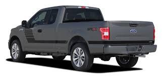 100 Black Ford Truck F150 Bedside Vinyl Graphics LEAD FOOT 20152019