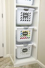 Laundry Room Closet Organization Ideas Systems Small Pinterest Diy