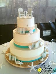 Adirondack Seashell Beach Cake
