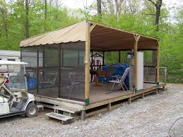 Patio Mate Screen Enclosure Roof by Ihp Tips U0026 Tricks Stand Alone Frame For Rv U0027s