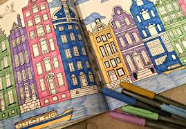 Splendid Cities Coloring Book