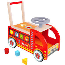 Ride On Fire Truck - Wooden Push And Pull Walker Cart - Pidoko Kids Fisherprice Power Wheels Paw Patrol Fire Truck Battery Powered Rideon 22 Ride On Trucks For Your Little Hero Toy Notes Steel Car In St Albans Hertfordshire Gumtree Dodge Ram 3500 Engine Detachable Water Gun Outdoor On Pepegangaonlinecom Tikes And Rescue Cozy Coupe Shop Way Zoomie Kids Eulalia Box Wayfair Amazoncom People Toys Games Kidmotorz Two Seater 12v With Steering Wheel Sturdy Seat Radio Flyer Bryoperated 2 Lights Sounds