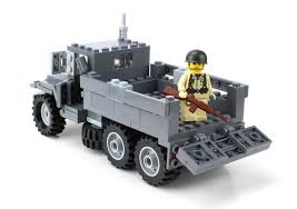 US Army M35 Truck Made With Real LEGO® Bricks
