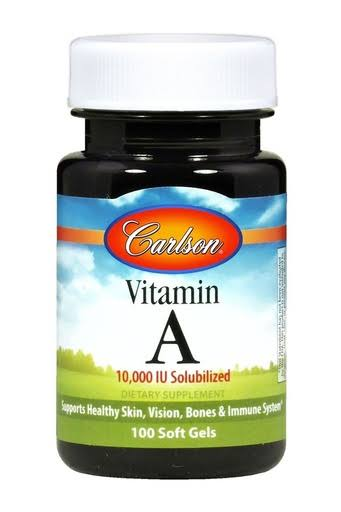 Carlson Labs Vitamin A Soluble Supplement - 10000 IU, 250ct