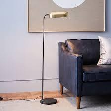 West Elm Mid Century Overarching Floor Lamp by Bronze Finish Floor Lamp West Elm