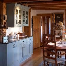 Blue Period Kitchen Vintage House Design 7167081140