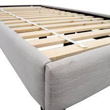 42% OFF West Elm West Elm Narrow Leg Upholstered Twin Bed Frame