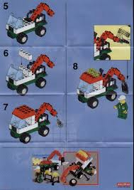 LEGO Mini Tow Truck Instructions 6423, City