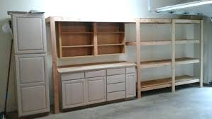 Garage Storage Cabinets Thanks To Plan And A Neighbors Discarded Kitchen We Now Have