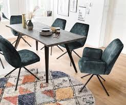armlehnstuhl cadau vintage blau 4 fuß rund schwarz metall polsterstuhl delife eu möbel delife versandkostenfreie lieferung