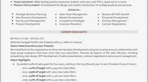 Professional Highlights Resume Examples Profiles Roddyschrock