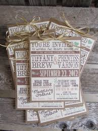 Rustic Wedding Invitation Ideas How To Make Your Own Postcards 8